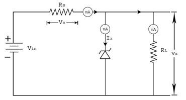 Zener Voltage Regulator
